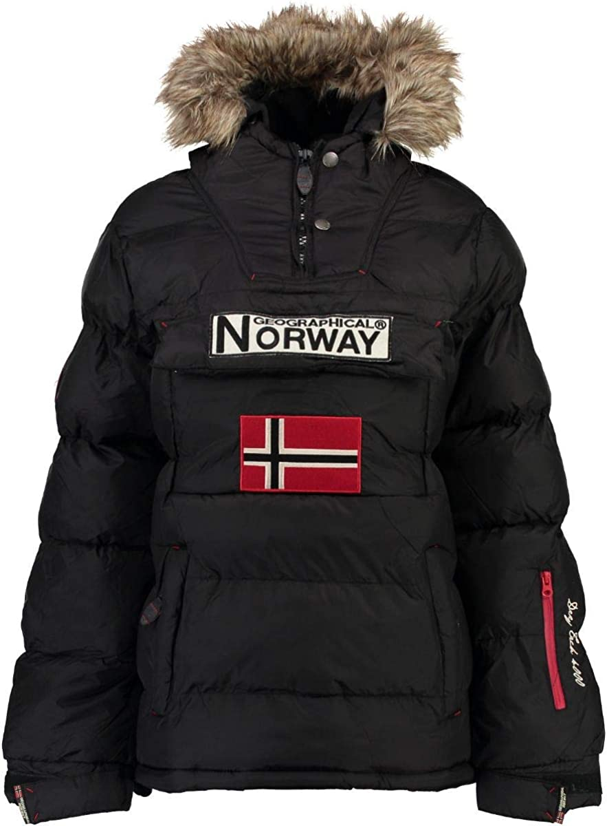 Geographical Norway Chaqueta Mujer Anson Negro XL