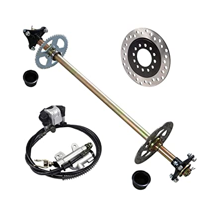 Amazon com: TDPRO Rear Axle Assembly Complete Wheel Hub Kit