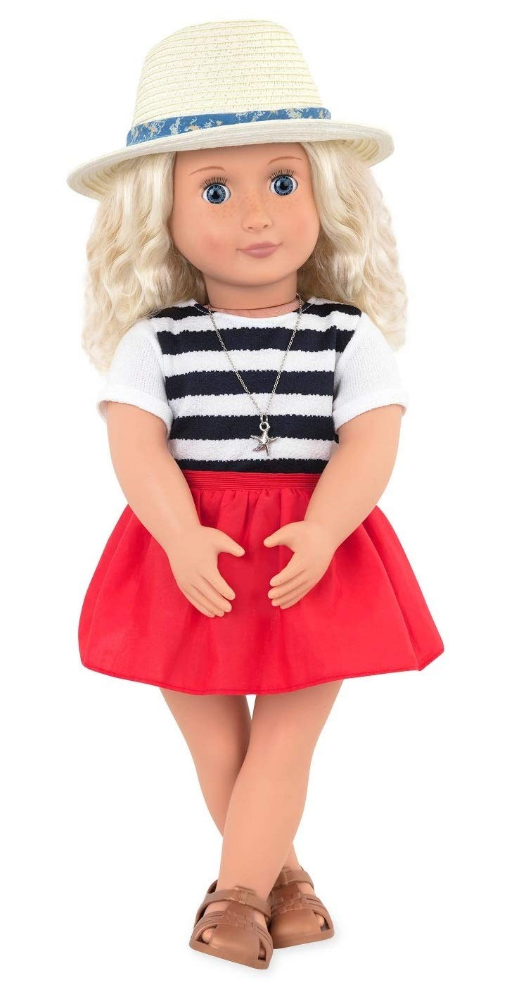 Our Generation Regular Doll with Beach House Outfit   B07B5R93VM