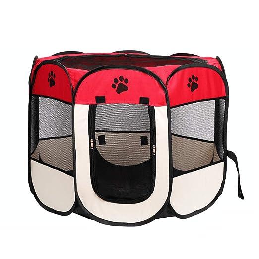 PSY pet tent Ideal al Aire Libre Plegable portátil del Parque de ...