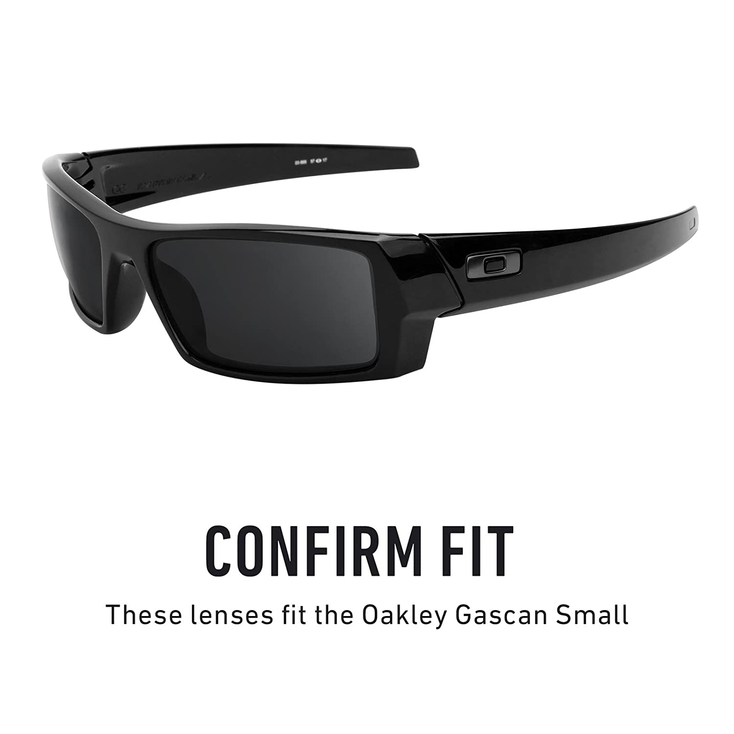 f6d553a3b4 Revant Replacement Lenses for Oakley Gascan Small Black Chrome MirrorShield  at Amazon Men s Clothing store