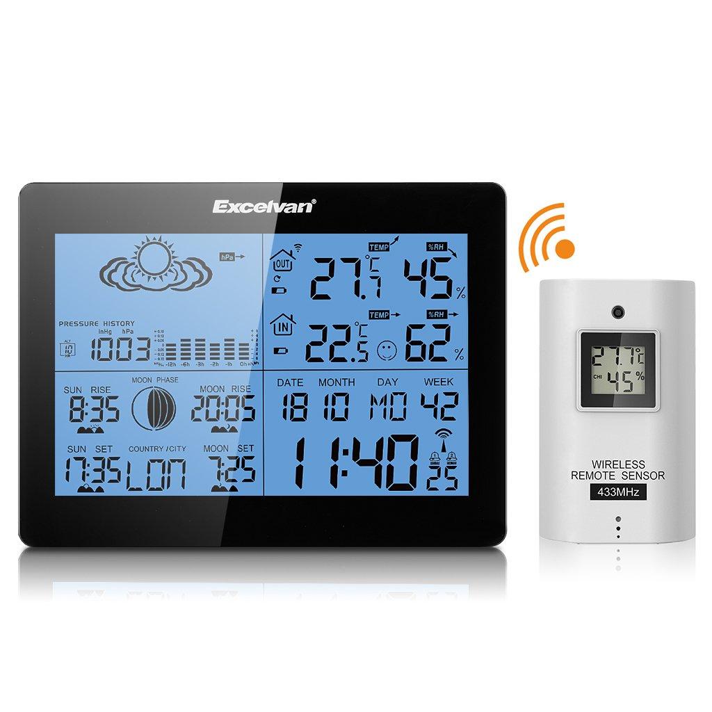 Comprar estaci n meteorol gica inal mbrica barata online for Estacion meteorologica barata