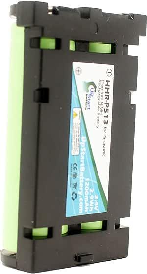 Kastar Cordless Phone Battery Type 27 2.4V Ni-MH 2000mAh Replacement for Panasonic HHR-P513 HHR-P513A HHR-P513A1B HRR-P513A1B and Panasonic KX-TG2258 KX-TG2235 KX-TG2238 KX-TG2248 KX-TG2249
