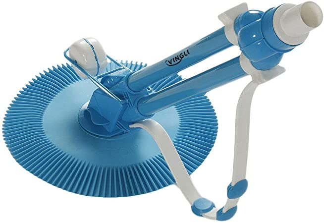 Automatic Swimming Pool Cleaner Suction In-Ground Vacuum Head Cleaner w// Hoses