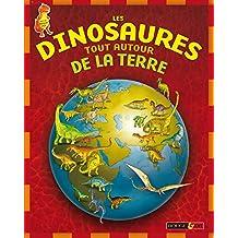 Dinosaures tout autour..  terre -les