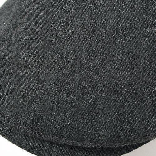 ililily New Men s Cotton Flat Cap Cabbie Hat Gatsby Ivy Caps - Import It All 96beeca9997f