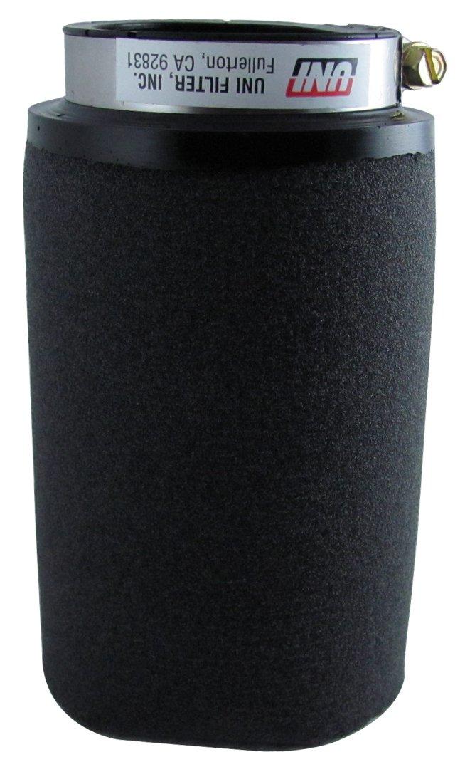 Uni Filter UP-5229 Black Universal Urethane Flange Straight Clamp-On Pod Filter