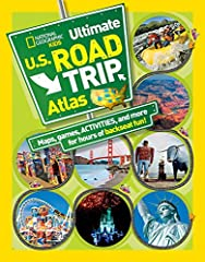 Keeping kids entertained while on a long drive can be a challenge, but the National Geographic Kids Ultimate U.S. Road Atlas can help. This book includes easy-to-read, simple road maps of each state and Washington, D.C., and a map of the Unit...