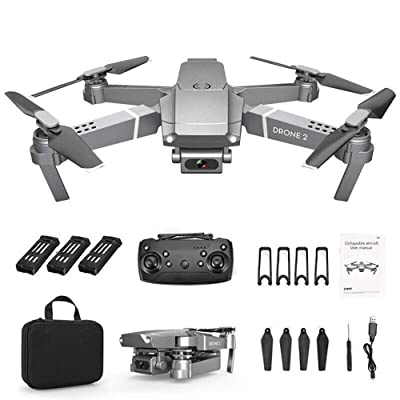 2020 New Drone x pro 2.4G Selfie WiFi FPV with 720P HD Camera Foldable RC Quadcopter RTF (C): Camera & Photo