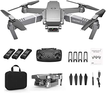 2.4G Drone x pro Selfie WiFi FPV with 720P HD Camera Foldable RC Quadcopter RTF – with a 720 P / 1080 P / 4 K Wide-Angle Camera