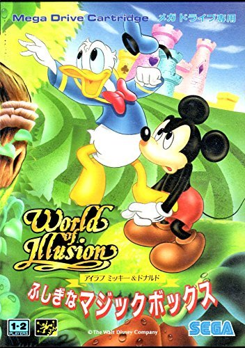 (World of Illusion starring Mickey Mouse & Donald Duck [Japan Import])
