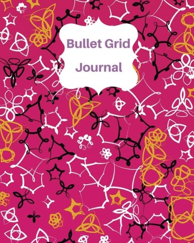 "Download Pink and Black Graphic : Bullet Grid Journal, 150 Dot Grid Pages (8""x10""): Dot Grid Journal for Design Book, Work Book, Planner, Dotted Notebook, Bullet Journal, Sketch Book. (Volume 4) ebook"