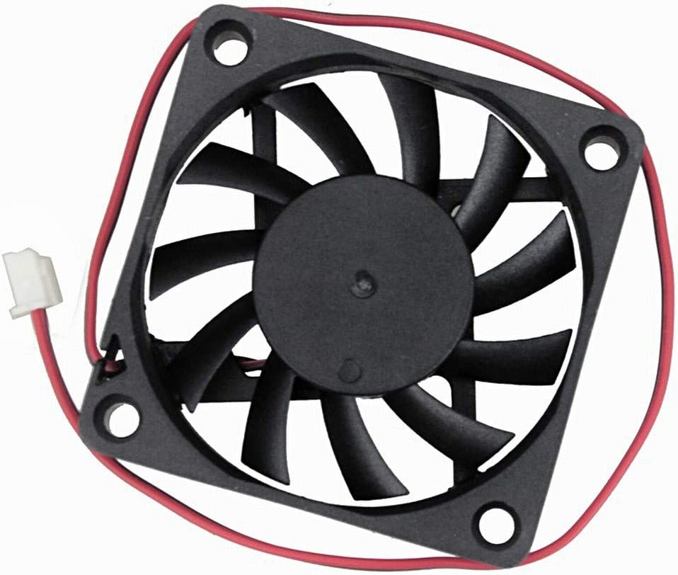 Wathai 60mm x 10mm 12V 2Pin DC Brushless Exhaust Cooling Fan