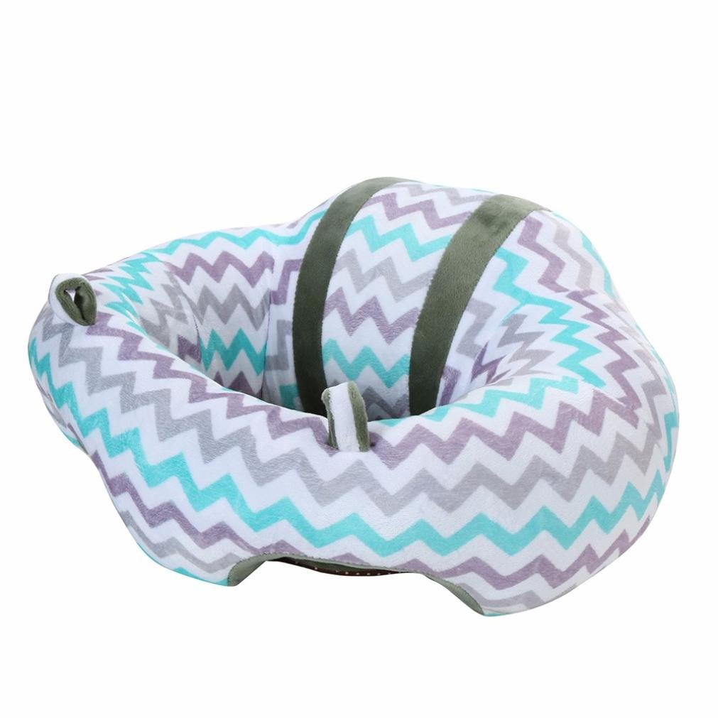 Baby Safety Seat, Efaster Toddler Infant Sitting Chair Nursery Pillow Shaped Cuddle Cushion (Gray) ZJS-20170825012