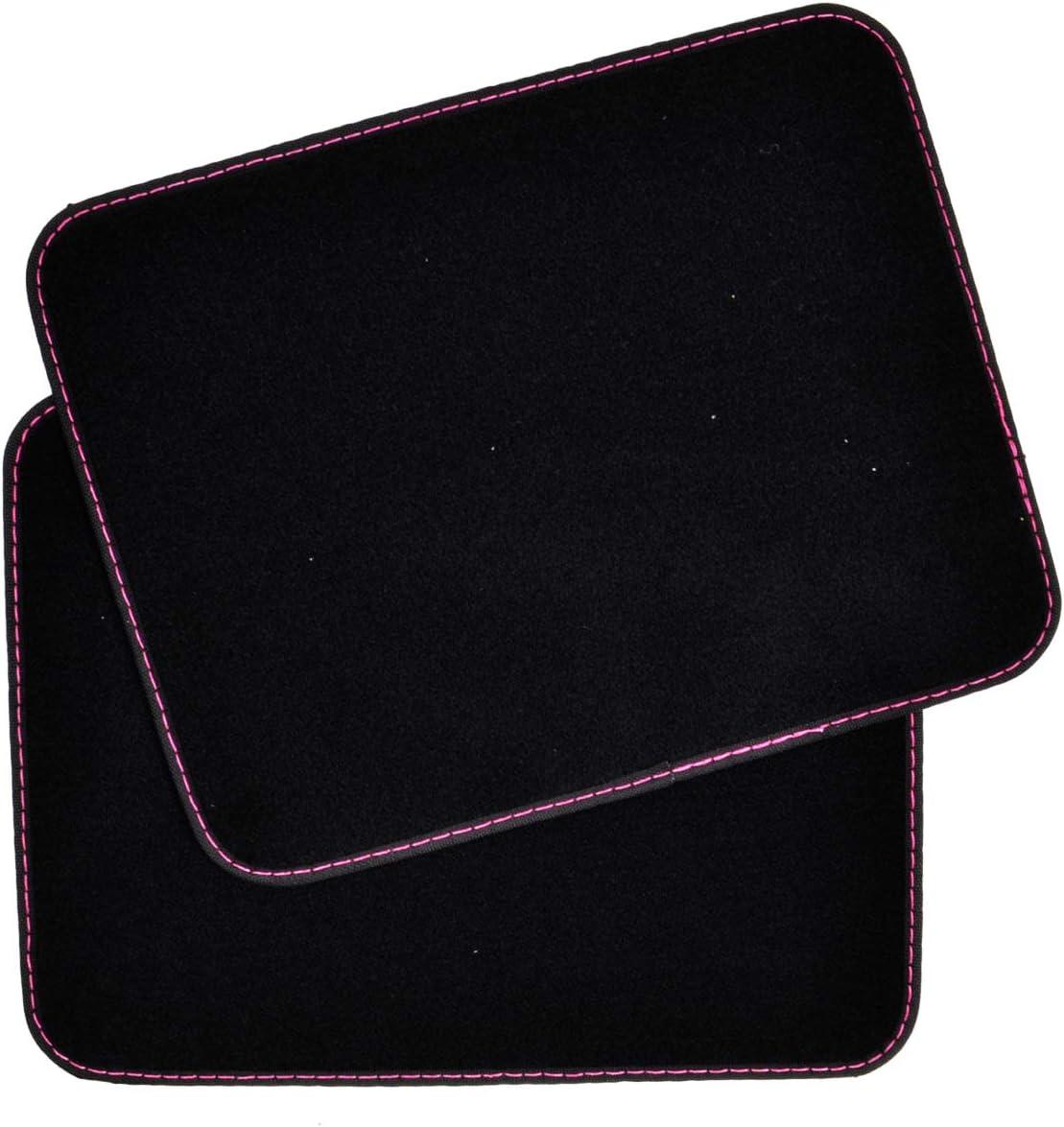 Rubber Backing Heavy Duty Carpet Original Design Boss Lady BDK 4 Pieces Car Floor Mats