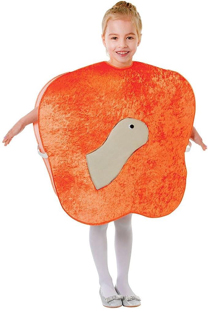 Bristol Novelty CC467 Peach and Worm, Unisex-Child, talla única ...