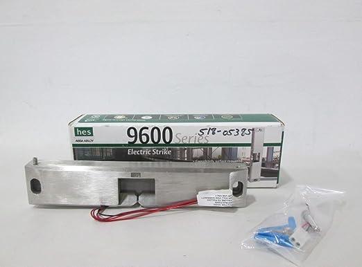 Amazon.com: NEW HES 9600-12/24-630 ASSA ABLOY 9600 SERIES ELECTRIC STRIKE 24V-DC D325060: Electronics