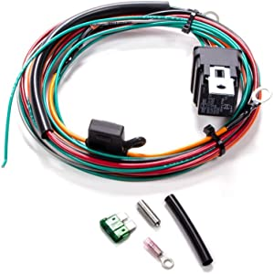 Be Cool 75017 Fan Relay Harness Excluding Thermal Switch, 1 Pack
