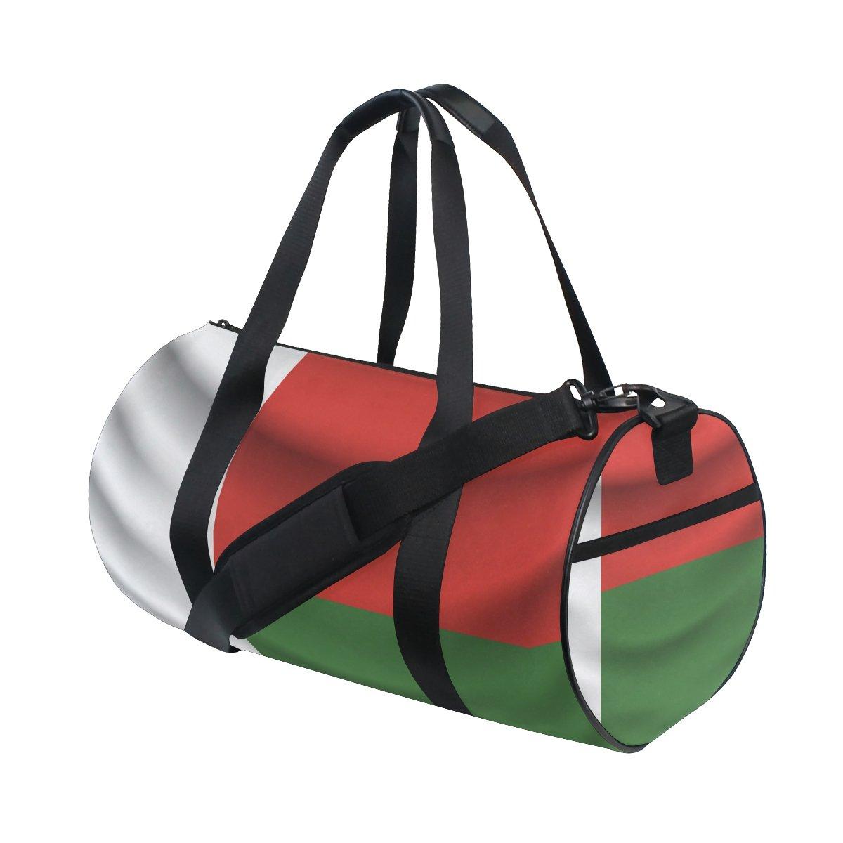 Madagascar Flag Travel Duffel Shoulder Bag ,Sports Gym Fitness Bags by super3Dprinted