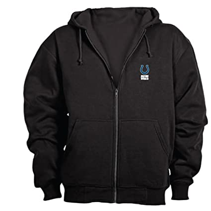 save off 5202f f17d0 Dunbrooke NFL Craftsman Full Zip Thermal Hoodie, Indianapolis Colts - Large