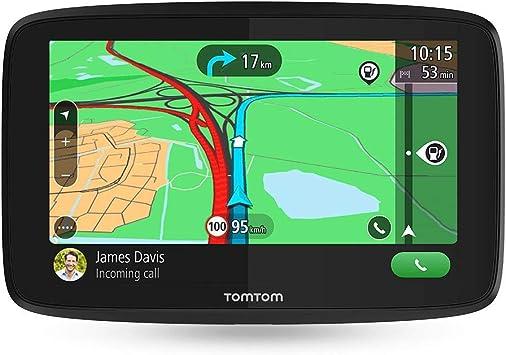 TomTom GO Essential, GPS para coche, 5 pulgadas, llamadas manos ...