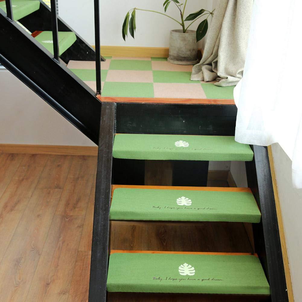 70224.5CM Luminous Non-Slip Glue-Free Self-Adhesive PVC Staircase Pad popchilli 5PCS Japanese Stair Mat Carpet Stair Tread Floor Mat Step Stickers