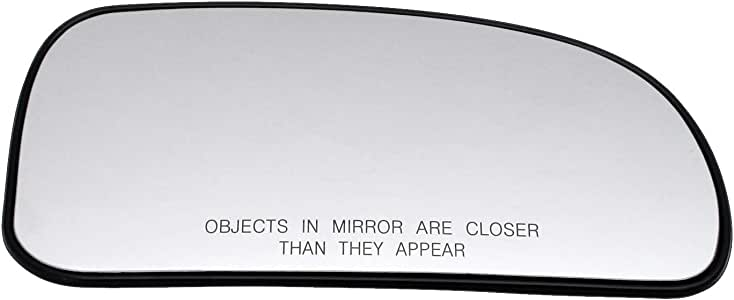 Heated Aftermarket 6411051-11229 Left Passenger Side Wing Mirror Glass Blue With Holder