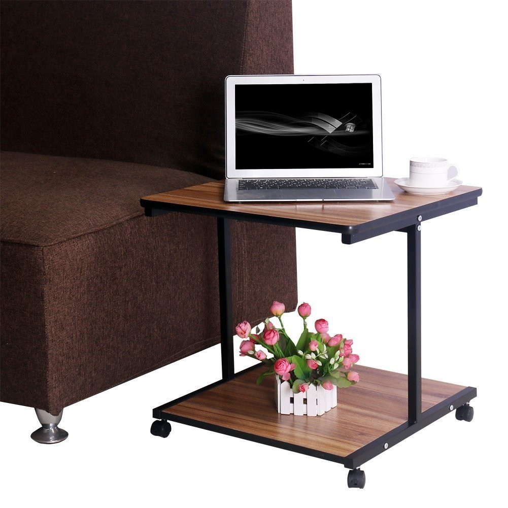 Indoor Multi-function Accent table Study Computer Desk Bedroom Living Room Modern Style End Table Sofa Side Table Coffee Table Bedroom Side Table