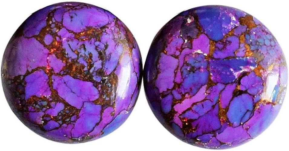 Purple Copper Turquoise Cabochon Purple Copper Turquoise Gemstone