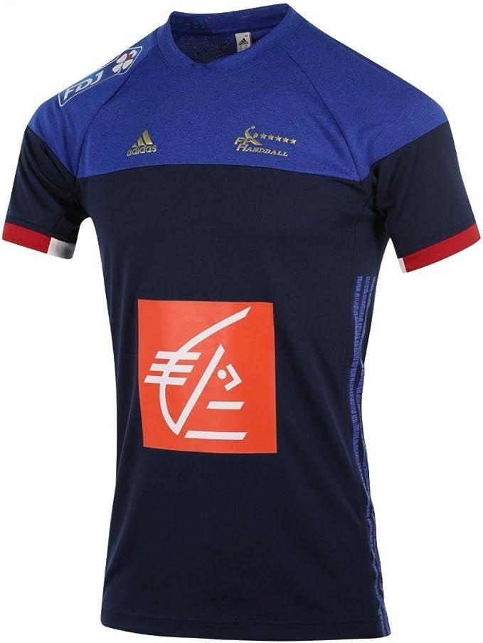 adidas FFHB Francia – Camiseta de: Amazon.es: Ropa y accesorios