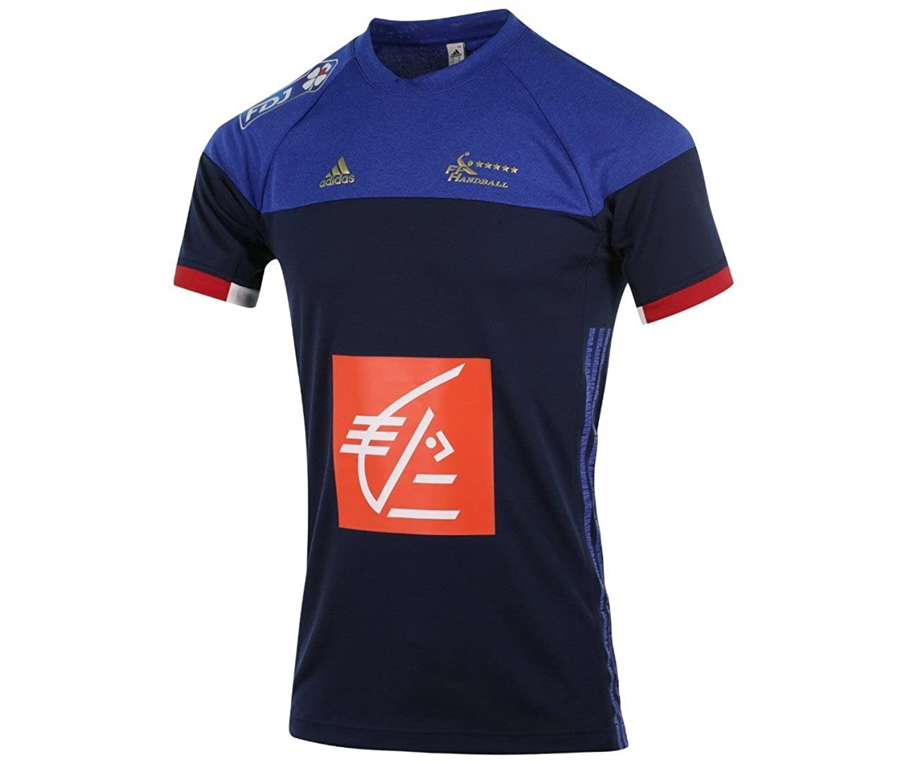 adidas FFHB Francia–Camiseta de
