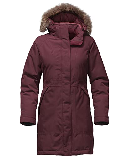 1c1a14e5f The North Face Women's Arctic Down Parka (Sizes S - L) - deep garnet red, xs