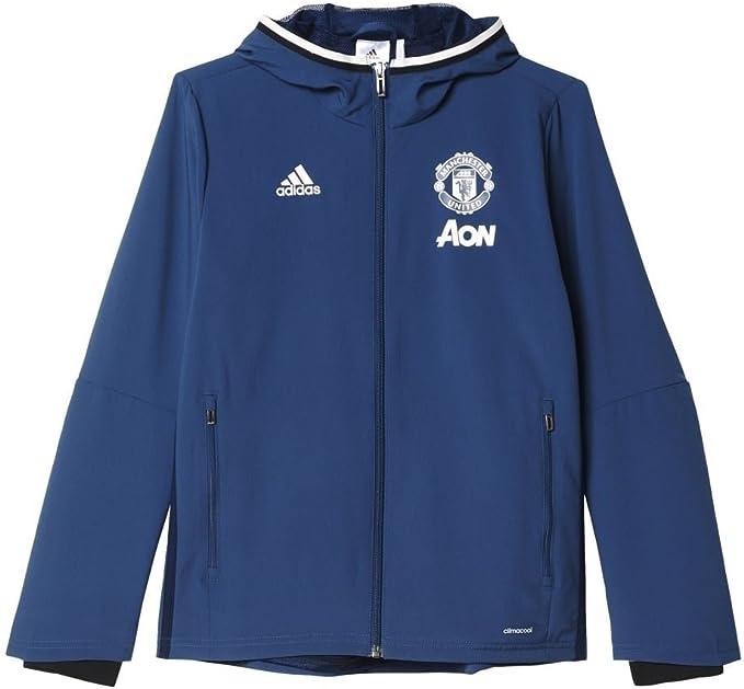 adidas Manchester United Pre Jkt Y Sudadera, Niños: Amazon.es ...