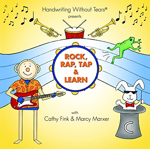 Rock, Rap, Tap, and Learn Readiness to Printing CD (Handwriting Without Tears)