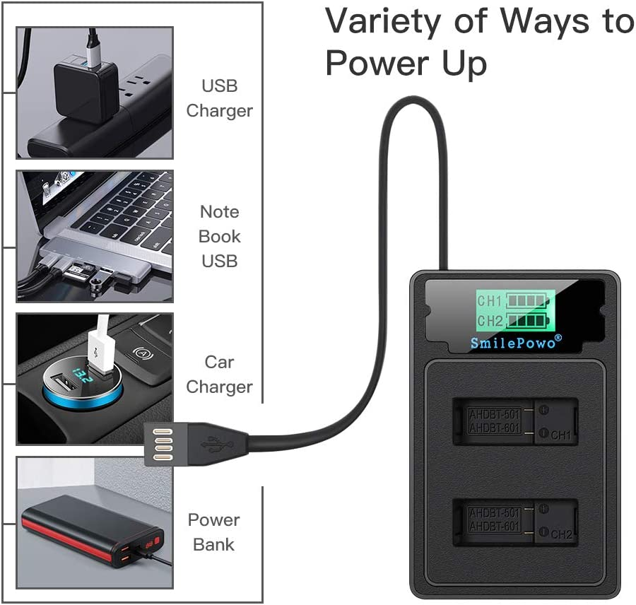 LCD Display USB Charger