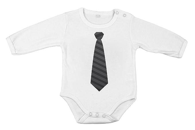 Body de algodón de recién nacido puro corbata idea regalo divertido ...