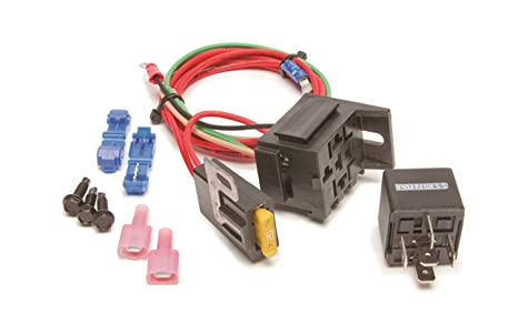 Fine Amazon Com Painless 30802 High Beam Headlight Relay Kit 1988 1998 Wiring Digital Resources Arguphilshebarightsorg