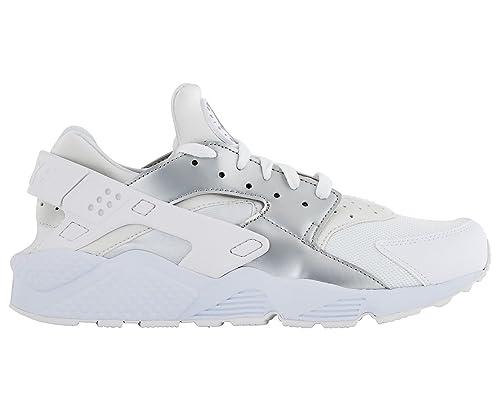 2bf8c9f1748f Nike Men s Air Huarache Shoe White Metallic Silver  Amazon.com.au ...
