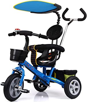NBgy Triciclo, Bicicleta De Tres Ruedas De Seguridad con Doble ...