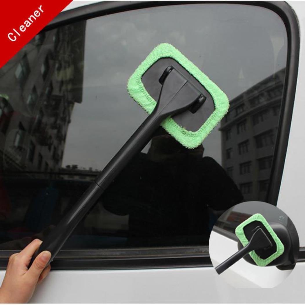Squarex pare-brise Easy Cleaner–Nettoyer les zones difficiles à atteindre de Windows sur votre voiture, à la maison lavable à la maison lavable