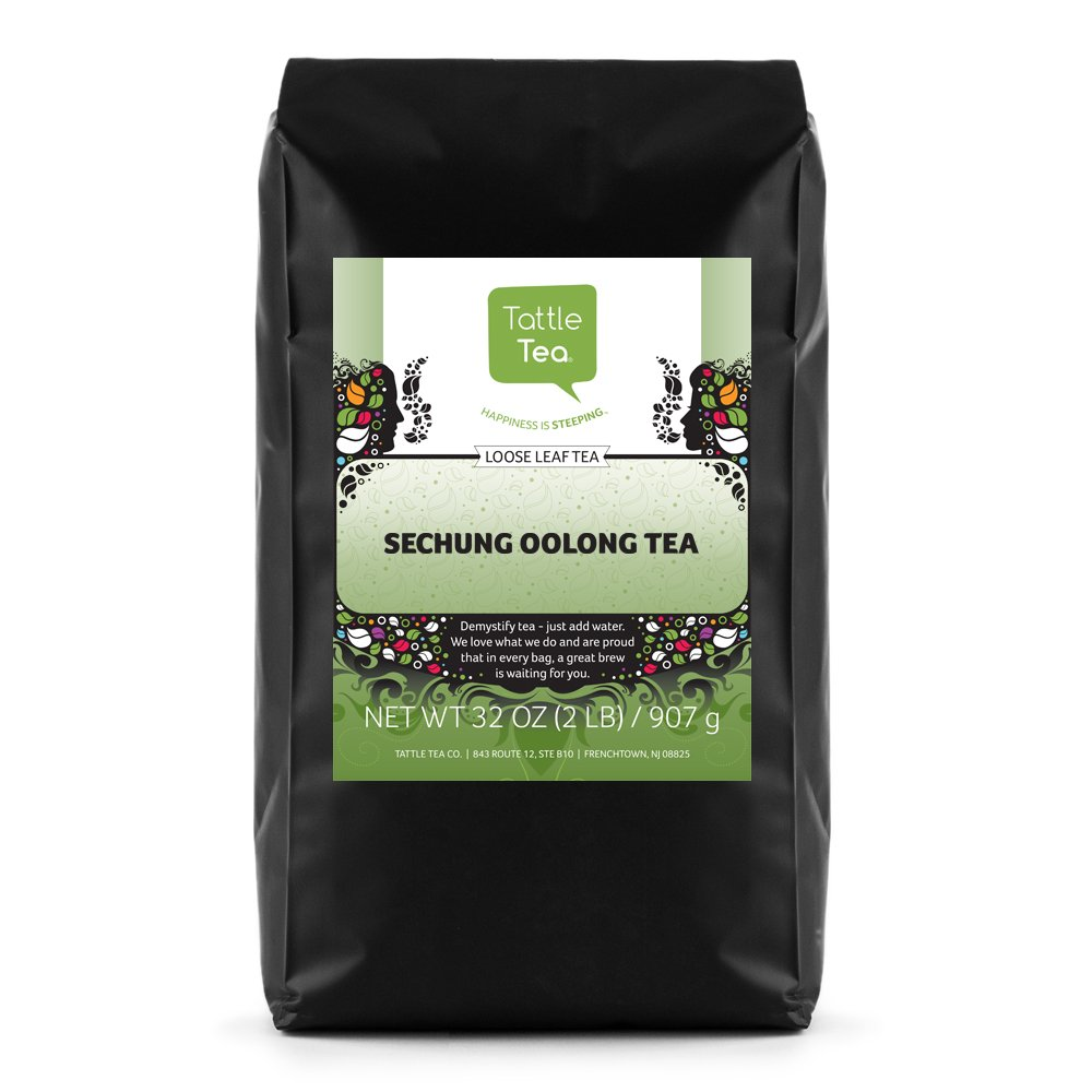 Tattle Tea Sechung Oolong Tea, 2 Pound