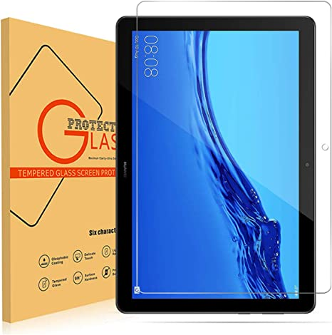 """2X Pack Tablet Tempered Glass Screen Protector For Huawei MediaPad T5 10.1/"""" inch"""