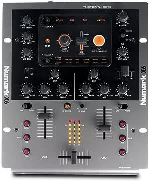 Numark X6-Mesa de mezclas DJ: Amazon.es: Instrumentos musicales