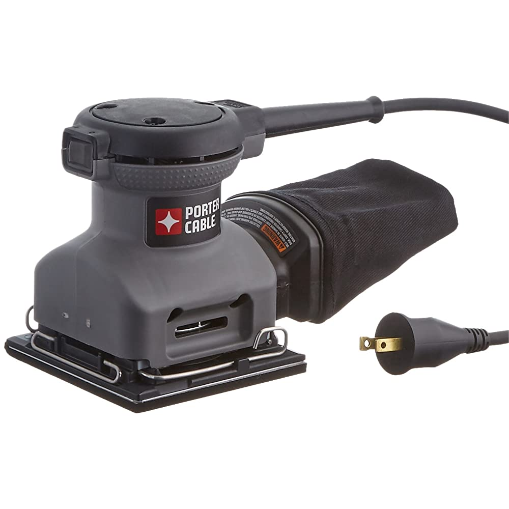 PORTER-CABLE 380 1/4 Sheet Orbital Finish Palm Sander Review
