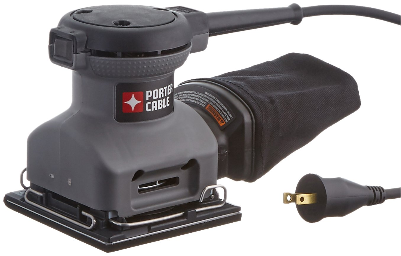 PORTER-CABLE Palm Sander, 1/4 Sheet (380) by PORTER-CABLE