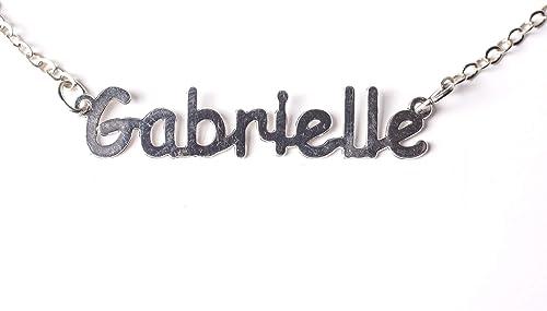 collier prenom gabrielle