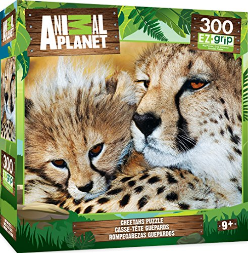 Cheetah Cat (MasterPieces Animal Planet Cheetahs Large 300 Piece EZ Grip Jigsaw Puzzle)