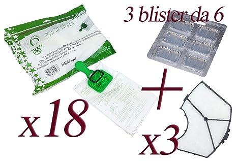 Bolsas de microfibra + Blister de ambientadores + Filtro ...