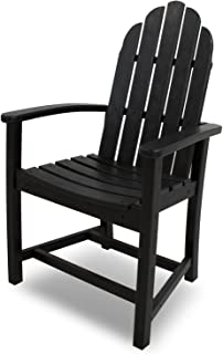 product image for POLYWOOD ADD200BL Classic Adirondack Dining Chair, Black