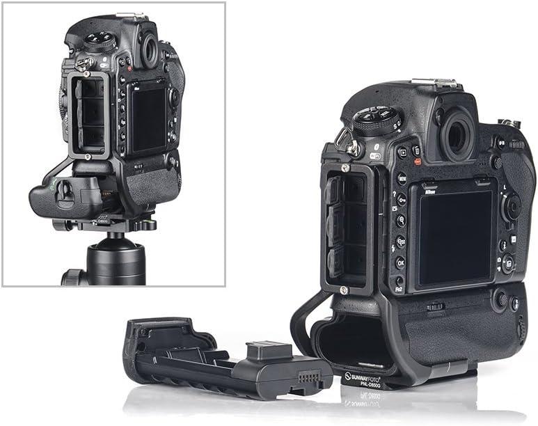 SUNWAYFOTO PNL-D850G Dedicated L Plate for Nikon D850 Camera w Battery Grip Arca//RRS Compatible Sunway